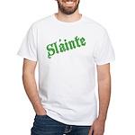 Slainte White T-Shirt