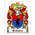 Schutze Coat of Arms Small Poster