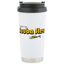 Scuba Steve Ceramic Travel Mug