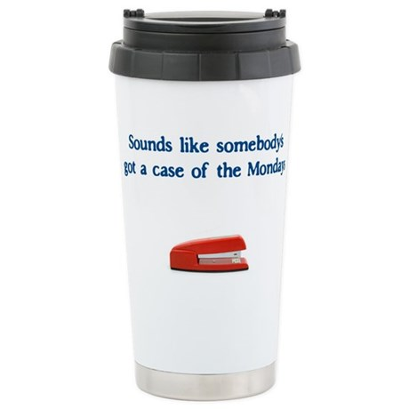 Case of the Monday's Ceramic Travel Mug