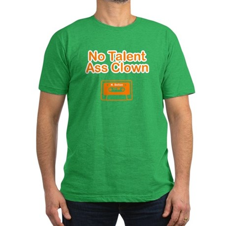 No Talent Ass Clown Men's Fitted T-Shirt (dark)
