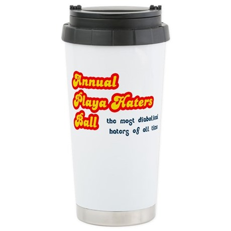 Annual Playa Haters Ball Ceramic Travel Mug