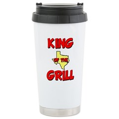 King of the Hill Ceramic Travel Mug
