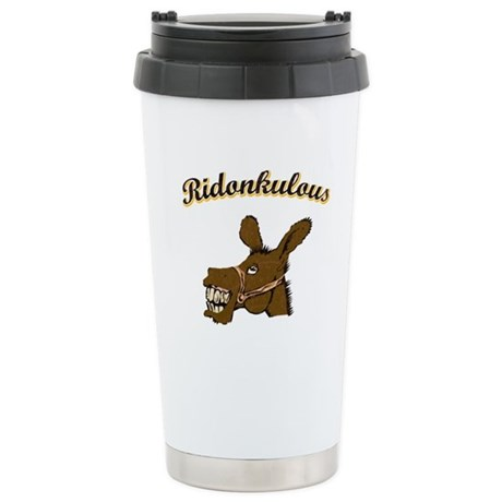 Ridonkulous Ceramic Travel Mug