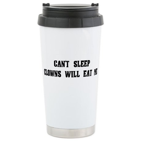 Clowns Will Eat Me Ceramic Travel Mug