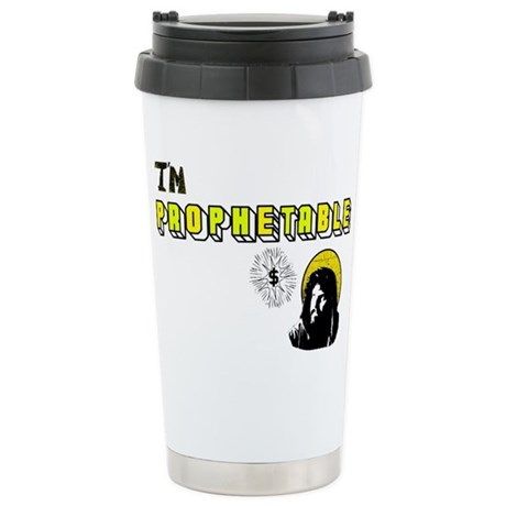 I'm Prophetable Ceramic Travel Mug