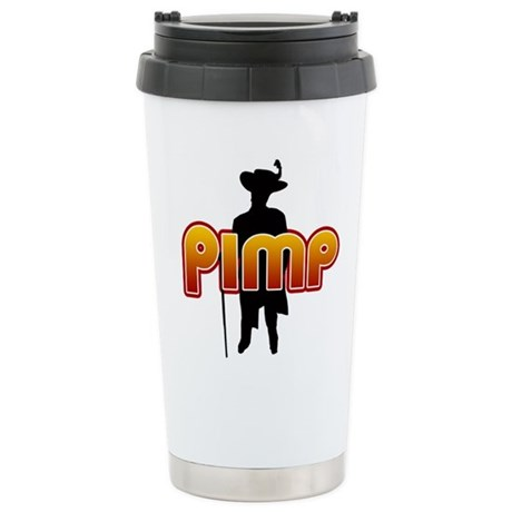 Pimp Ceramic Travel Mug