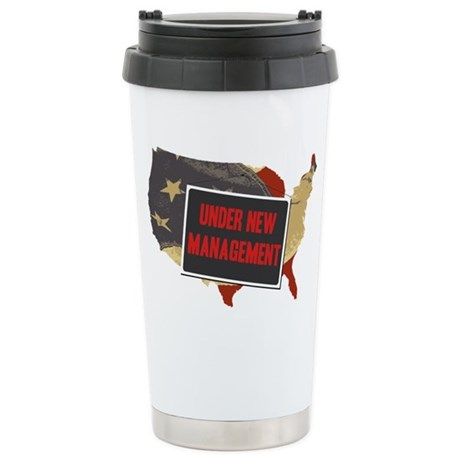 USA Under New Management Ceramic Travel Mug