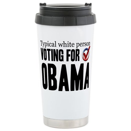 Typical White Person Ceramic Travel Mug