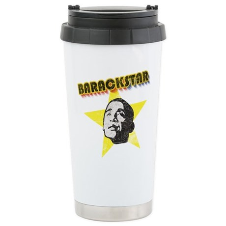 BarackStar Ceramic Travel Mug