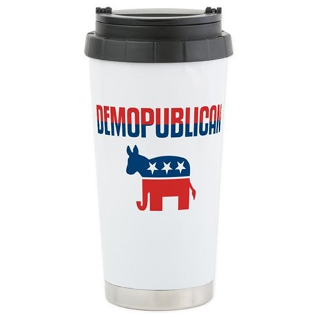 Demopublican Ceramic Travel Mug