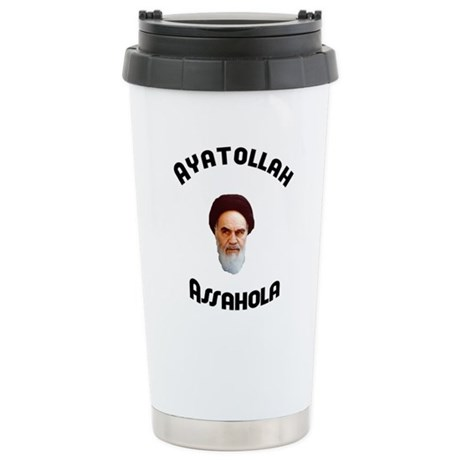 Ayatollah Assahola Ceramic Travel Mug