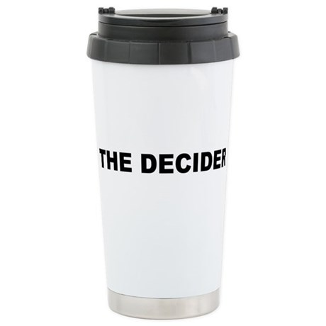 THE DECIDER Ceramic Travel Mug