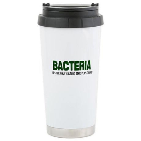 Bacteria/Biology Ceramic Travel Mug