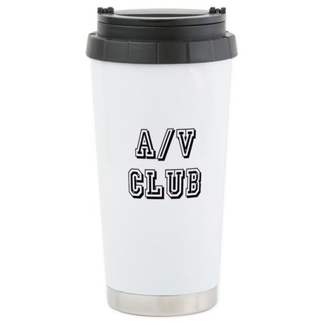 A/V Club Ceramic Travel Mug