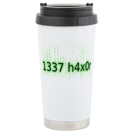 1337 h4x0r Ceramic Travel Mug