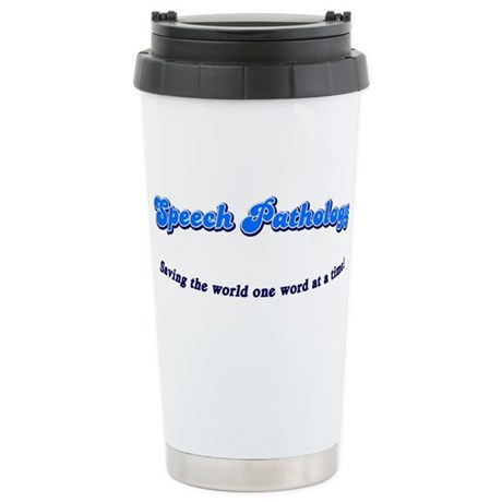 Speech Pathology Ceramic Travel Mug