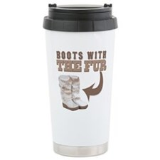 Boots With The Fur Ceramic Travel Mug