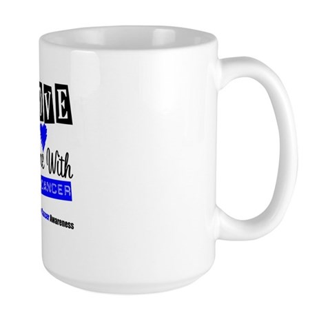 ILoveSomeone ColonCancer Large Mug