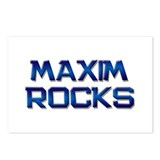 maxim rocks Postcards (Package of 8)
