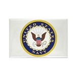 United States Navy Emblem Rectangle Magnet (10 pac