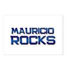 mauricio rocks Postcards (Package of 8)