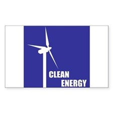 Clean Energy Rectangle Decal