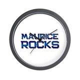 maurice rocks Wall Clock