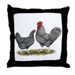 Cuckoo Marans Throw Pillow