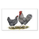 Cuckoo Marans Rectangle Sticker 10 pk)