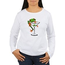 Frog and Martini T-Shirt