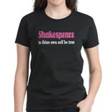 Pink Shakespeare Quote Tee