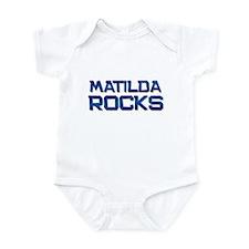 matilda rocks Infant Bodysuit