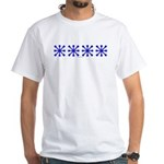 Blue Jacks White T-Shirt