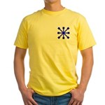 Blue Jack Yellow T-Shirt