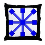 Blue Jack Throw Pillow