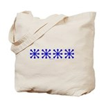 Blue Jacks Tote Bag