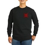 Red Jack Long Sleeve Dark T-Shirt