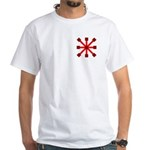 Red Jack White T-Shirt