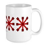 Red Jacks Large Mug