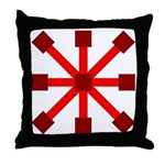 Red Jack Throw Pillow