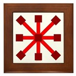 Red Jack Framed Tile