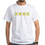 Yellow Jacks White T-Shirt