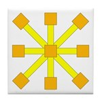 Yellow Jack Tile Coaster