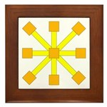 Yellow Jack Framed Tile