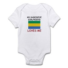 My Gabonese Girlfriend Loves Me Infant Bodysuit