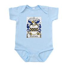 Thorsen Coat of Arms Infant Creeper