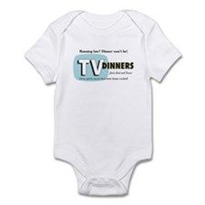 TV Dinner Infant Bodysuit