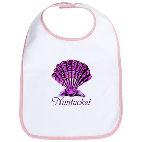 Nantucket Scallop Shell Bib