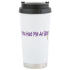 Woof Ceramic Travel Mug